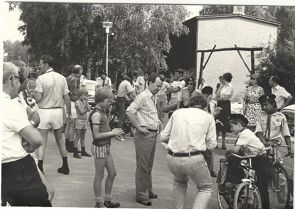 Foto huidige blokhut 1971