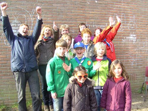 Winnende team