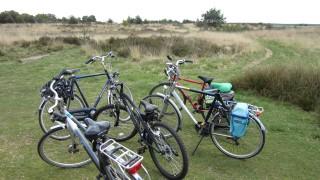Scouts fietstocht