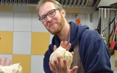 Hulp voor bakker Chris