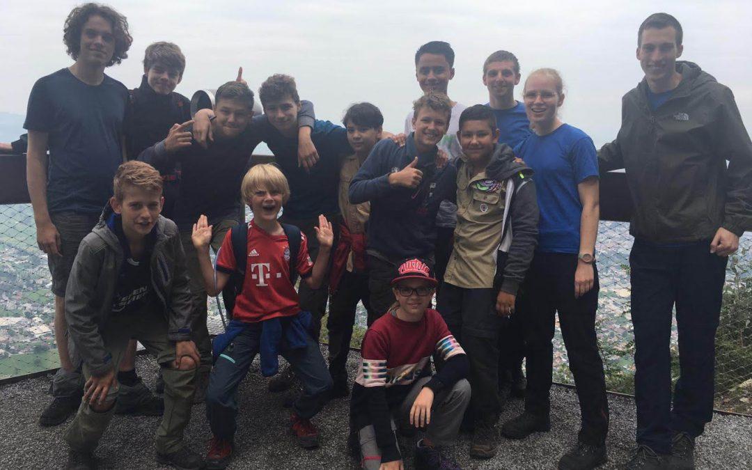 Scouts-ZomerKamp 2019, Dornbirn, Oostenrijk