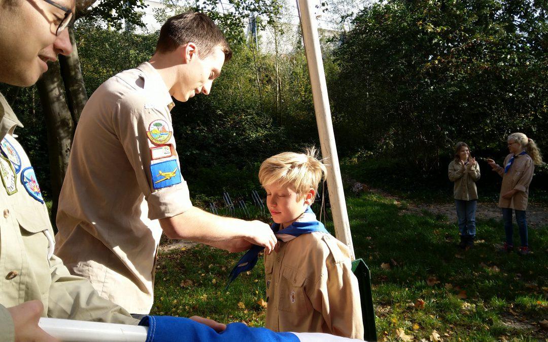 Installatie nieuwe Scouts