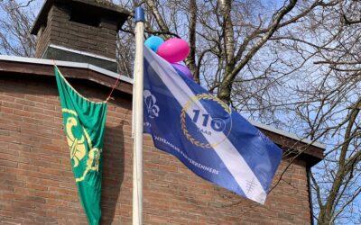 Scouting Aerendheem viert 110-jarig bestaan