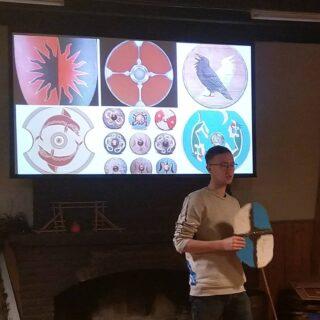 Afgelopen weekend hadden de Scouts WeekendKamp. Dit weekend werden zij echte Vikingen!