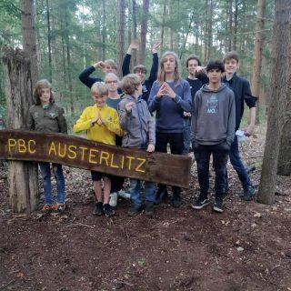 Ook de Scouts zijn deze week op Zomerkamp! Dit keer is het kamp op labelterrein PBC Austerlitz